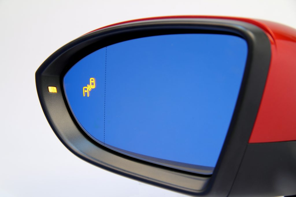 140910 Rear-view mirror Volkswagen Golf